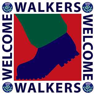 VisitScotland Walkers Welcome Logo
